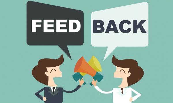 customer feedback on website draft