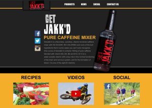 get jakkd website design mockup
