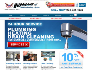 Plumbing Business Web Design