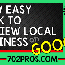Easy Link to Get Reviews for Local Business on Google Places, Google Maps, Google My Business