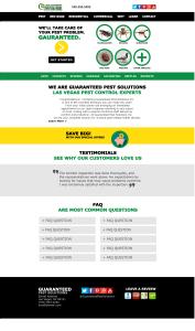 gps website design mockup
