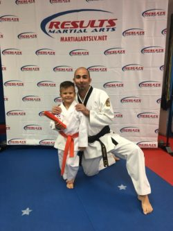 Results Martial Arts