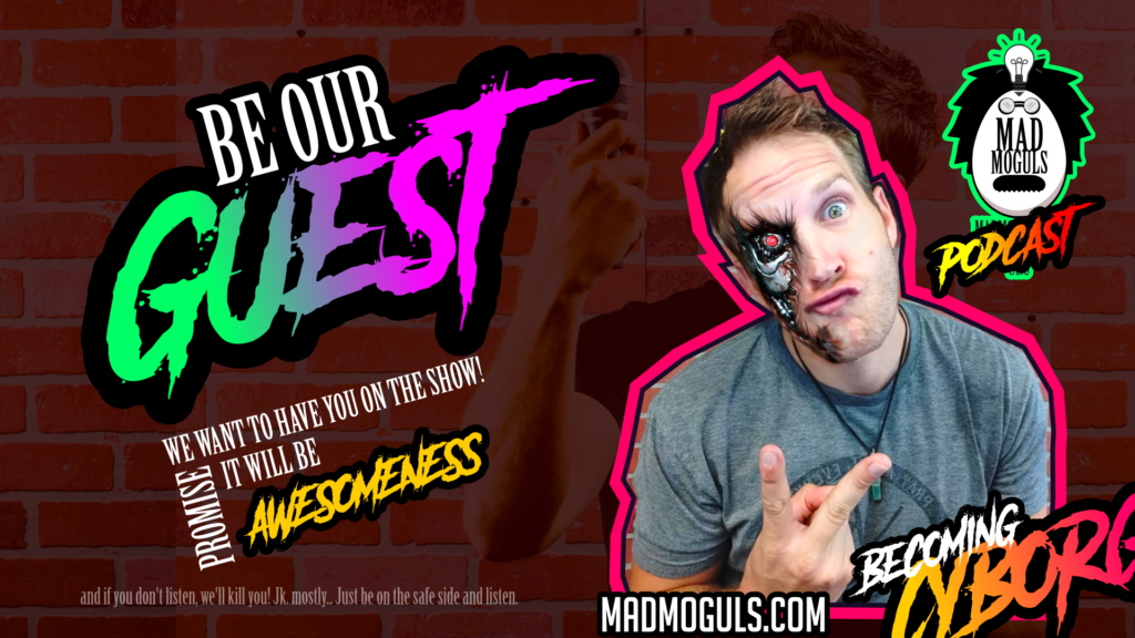be our guest on the mad moguls podcast! with Justin Young #MANvsBUSINESS #fantasticalness