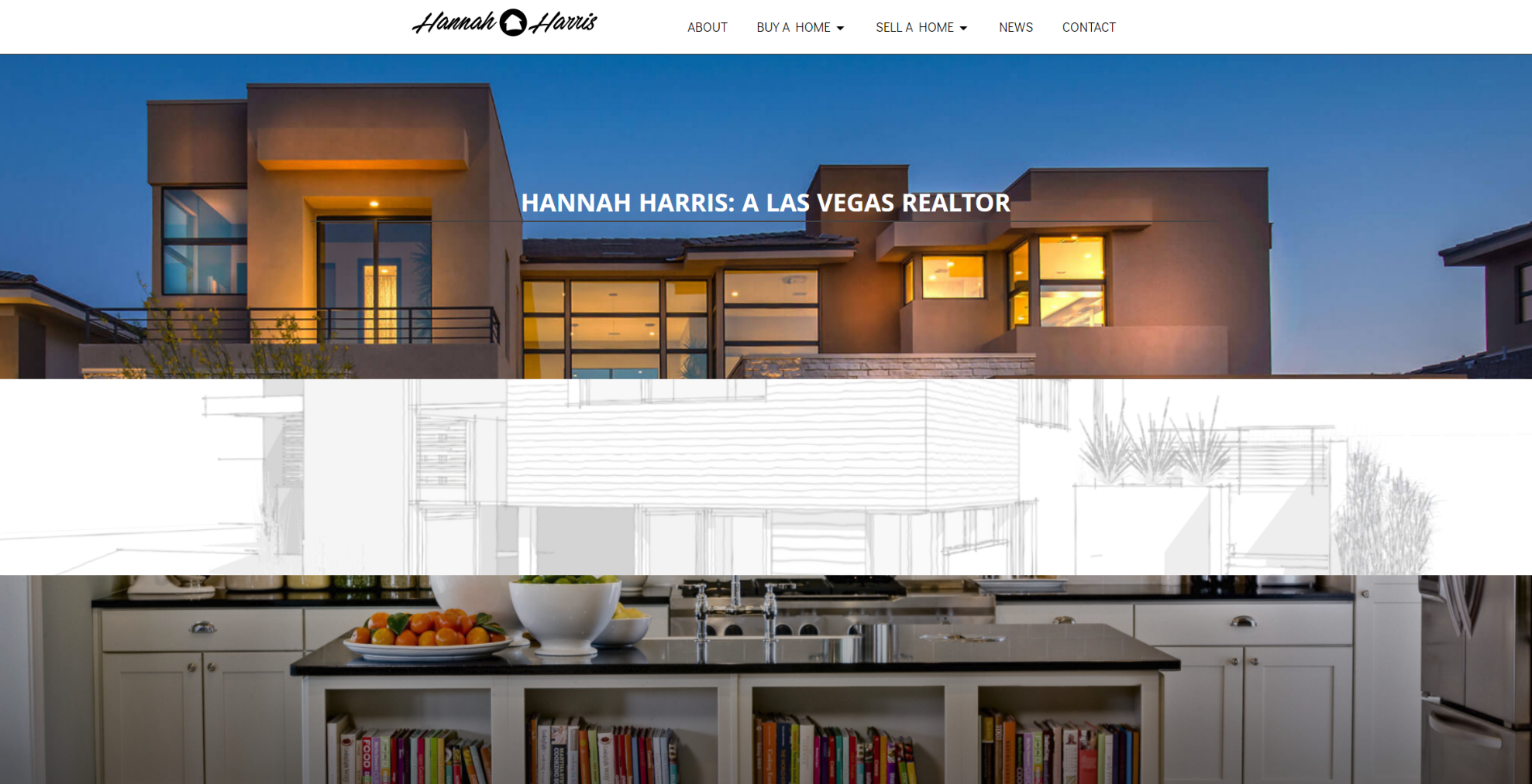 las vegas website development by 702 Pros LLC for Hannah Harris | Justin Young