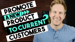 Advertising a new product or service to an existing customer base - 702 pros   Justin Young