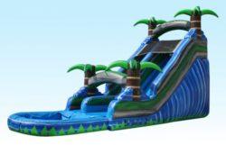 18 Deep Blue Paradise Slide