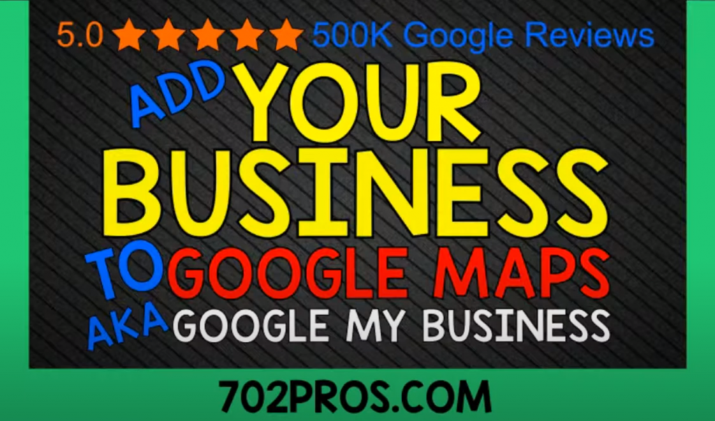 Create a Google My Business Page - Add your business to Google Maps, aka Google My Business