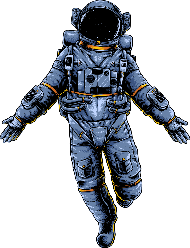 Astronaut Floating in Space PNG - 702 Pros | Las Vegas Web Design and Digital Marketing Agency