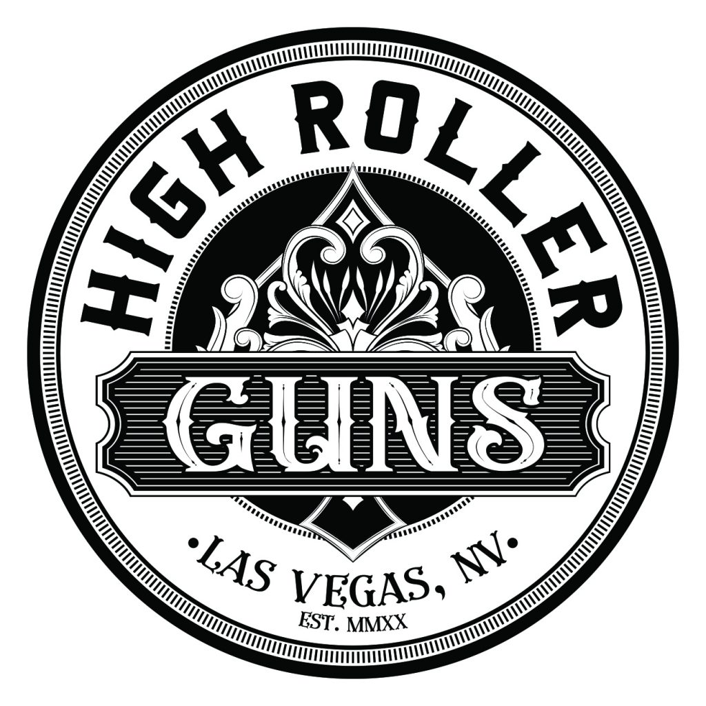 High Roller Guns Logo Design by 702 Pros