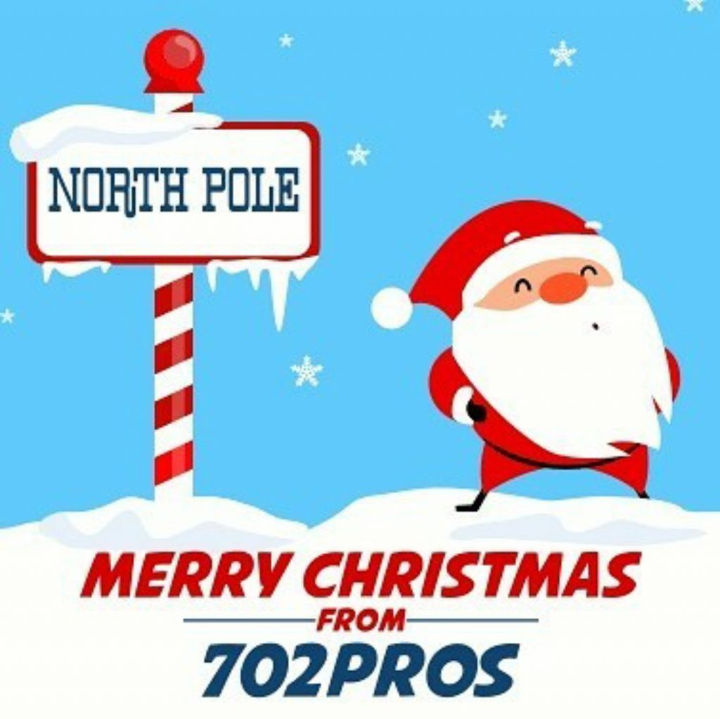 Merry Christmas for 702 Pros
