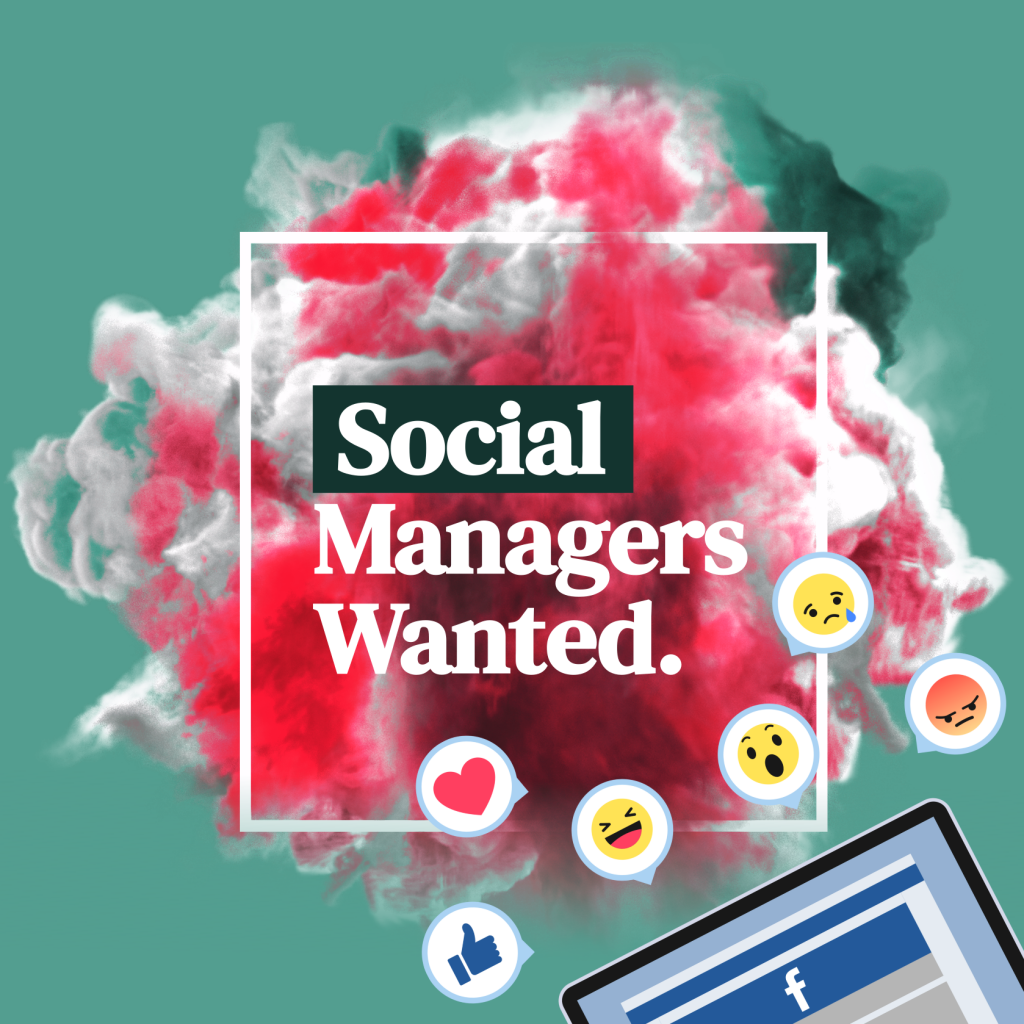 Social Media Manager Wanted - Job Posting Instagram Post Examples by 702 Pros