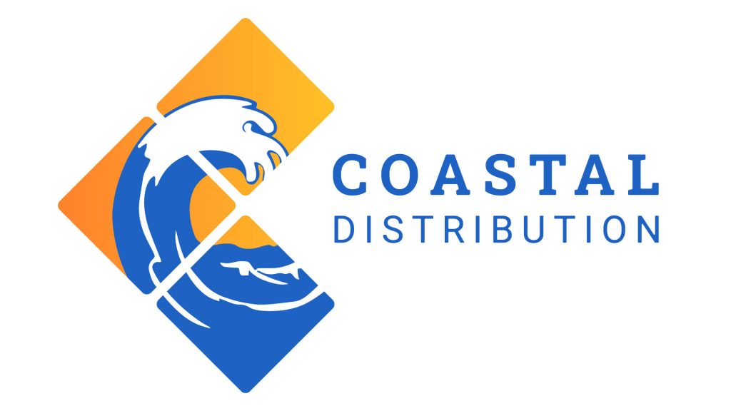Coastal Distribution Logo Design by 702 Pros