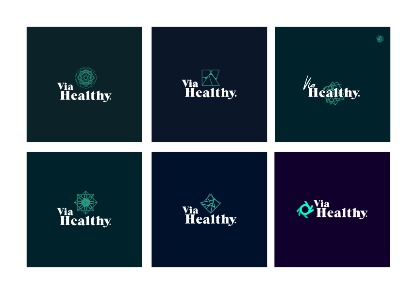Via Healthy Logo Design Concepts by 702 Pros