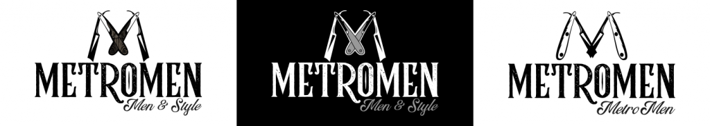 MetroMen Logo Design Concepts by 702 Pros