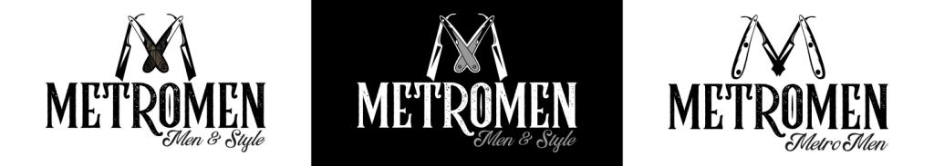 MetroMen Logo Design Concepts by 702 Pros