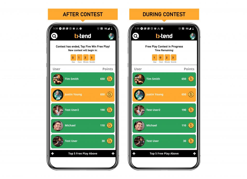 B Tend App Design by 702 Pros