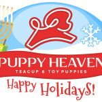 Puppy Heaven Christmas Logo Design by 702 Pros