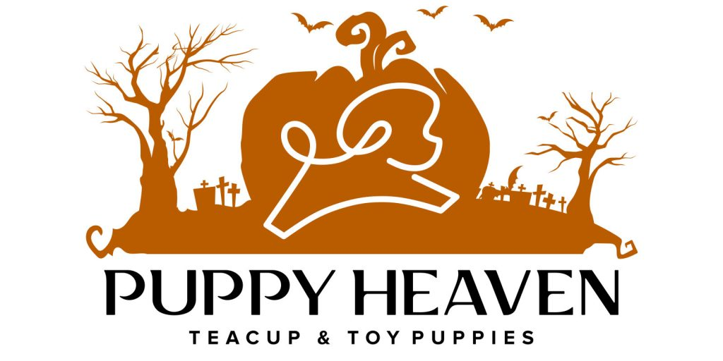 Puppy Heaven Halloween Logo Design by 702 Pros