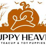 Puppy Heaven Halloween Logo Design by 702 Pros