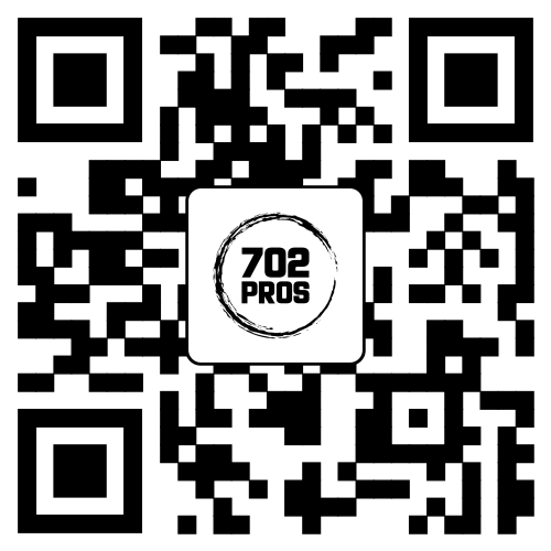 Branding QR Code Example by 702 Pros