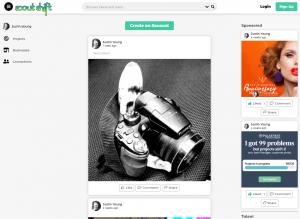 Scoutshift progressive web applications - web design project - 702 Pros