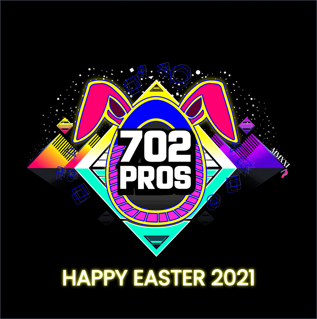 702 Pros - Web Design Las Vegas Marketing Agency - Easter poster 2021