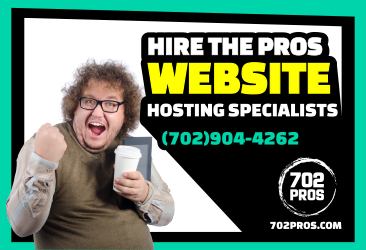 Why hire a local web hosting provider like 702 Pros over a large company like Godaddy