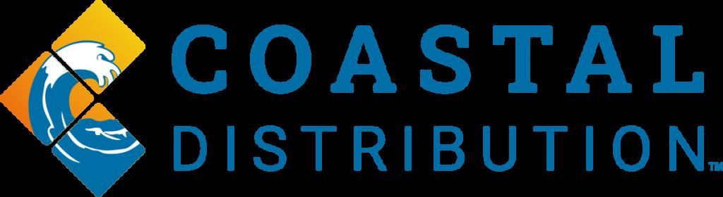 Coastal Logo Design | Orange and Blue Wave Logo Design | Logo Design by 702 Pros