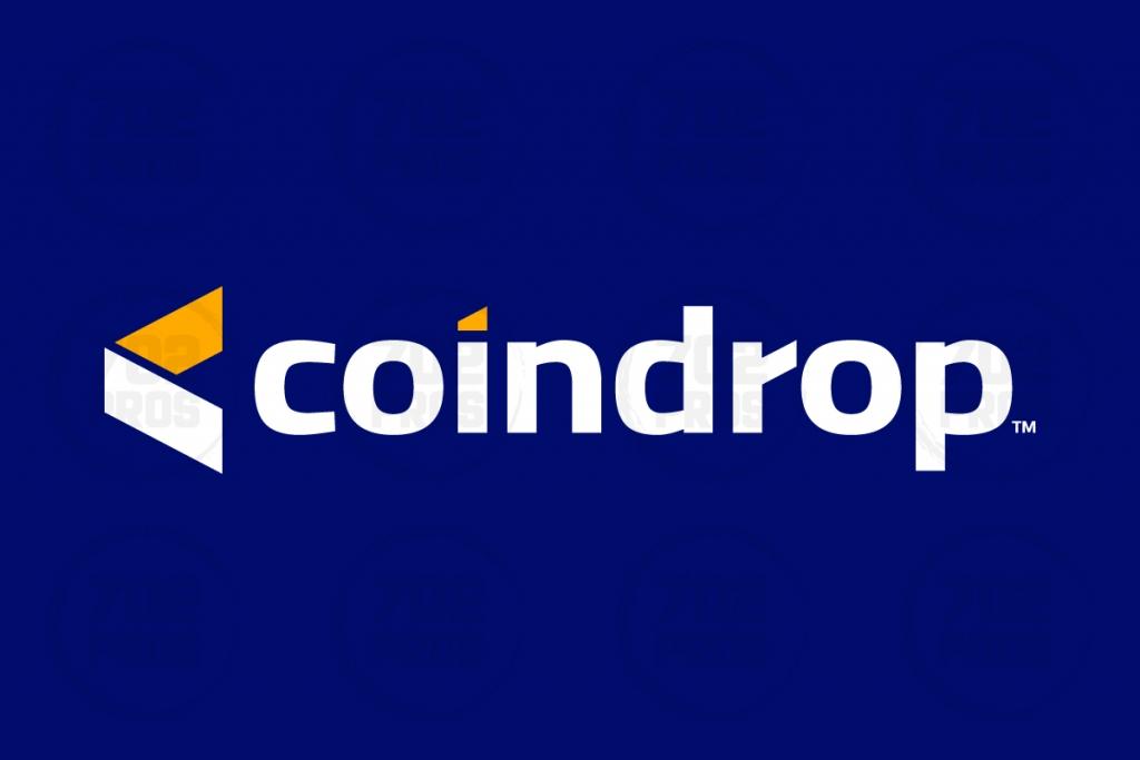 Coin Drop | Crypto Logo Design by 702 Pros
