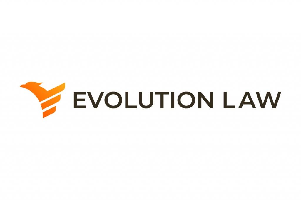 Logo design phoenix | Evolution Logo Design | Orange and black logo | Modern logo design | Lawyers office logo design by 702 Pros
