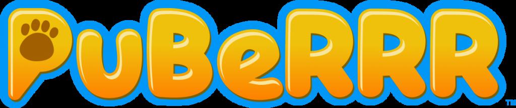 PuBeRRR Logo Design by 702 Pros | Bubble logo design | Animated pet logo design