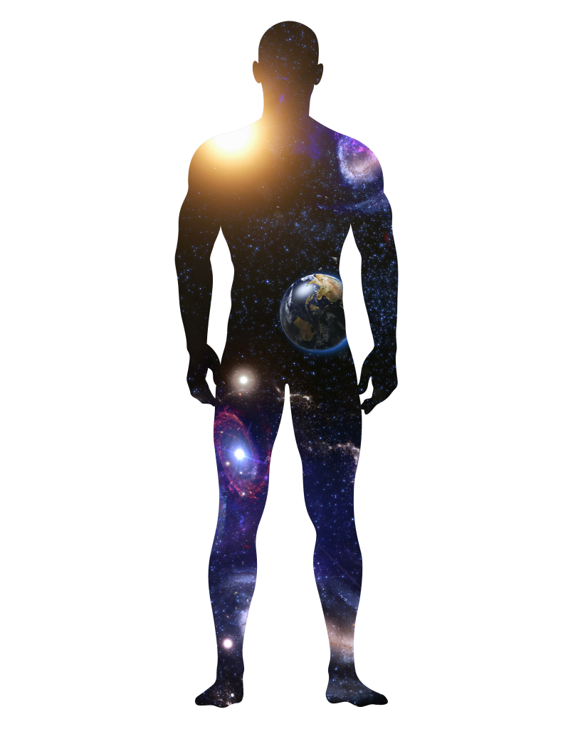 Space Man Silhouette (RGB) by 702 Pros