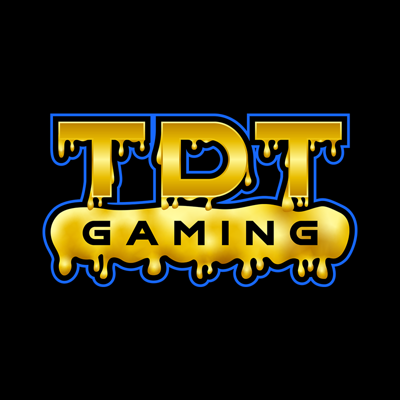 TDT Gaming Logo sample | Yellow and Blue Gaming Logo Design | Graphic Design by 702 Pros