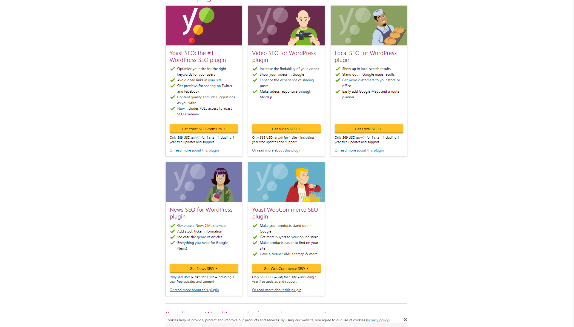 Migrate from Yoast to Rank Math | Easily Switch from Yoast to Rank Math Fast - Yoast Premium Screenshot off their website