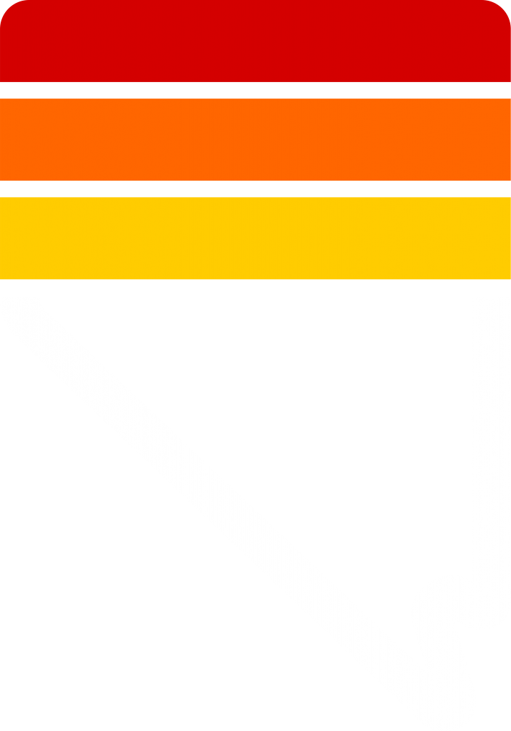 Nevada Symbol Graphic Design with retro stripes | Red, Orange, and Yellow | Graphic Design by 702 Pros