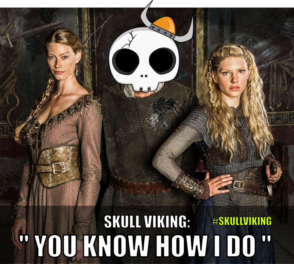Vikings Meme with Skulls Pals | by 702 Pros