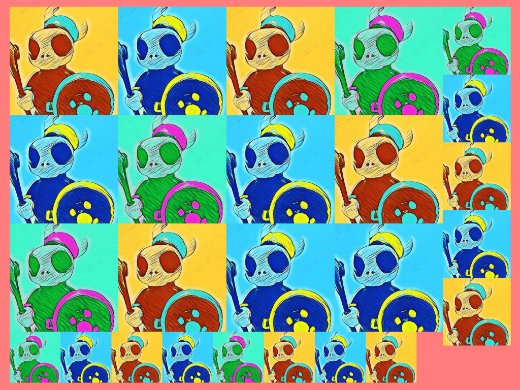 Viking Graphic Design | Skull Pals | Graphic by 702 Pros | Image SEO example