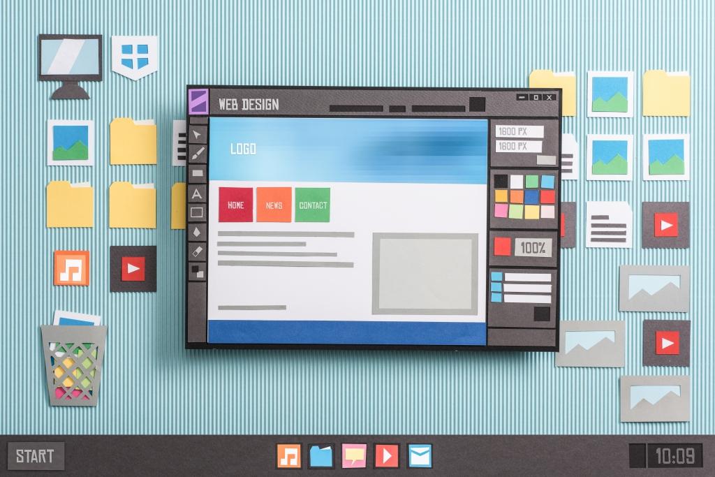 Web design software - website hosting