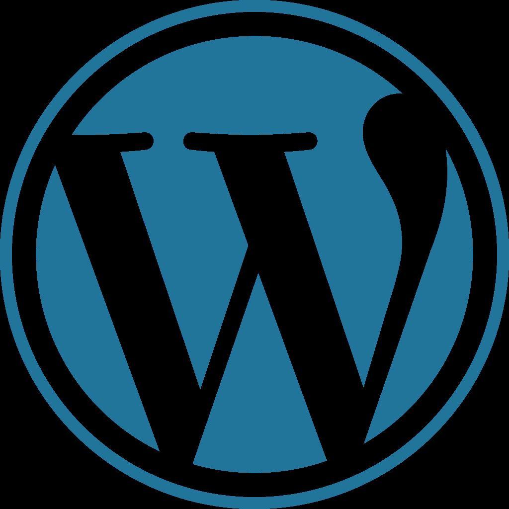 WordPress Software Logo Transparent