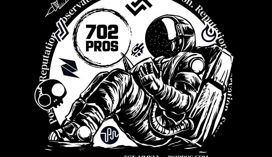 Las Vegas Digital Marketing Agency | Astronaut tshirt Design Concept by 702 Pros