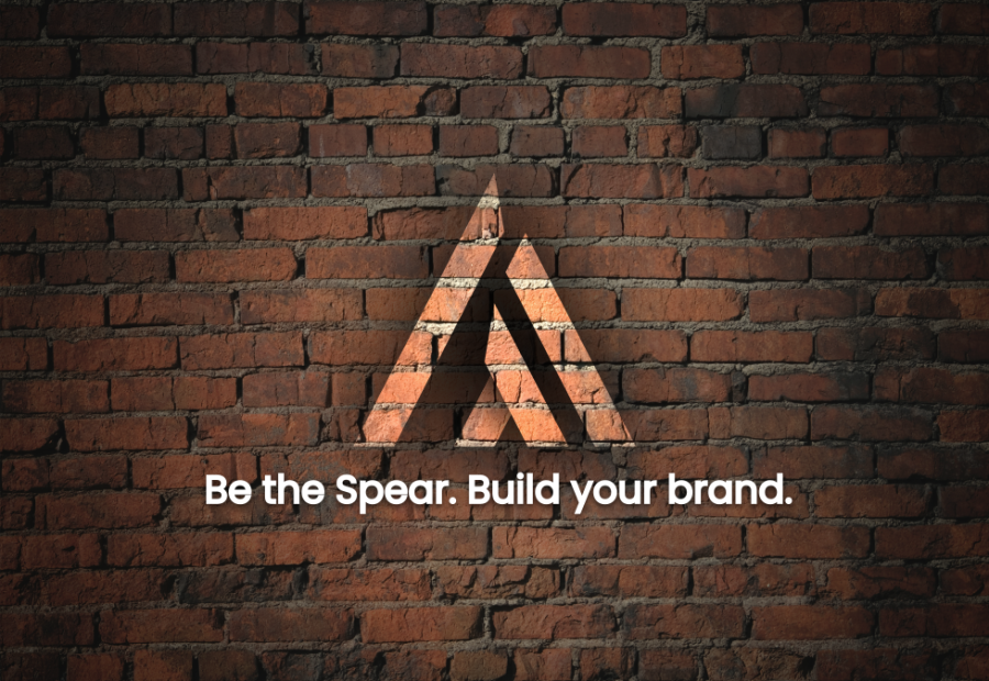 Brand identity Spearbrand | be the Spear | 702 Pros