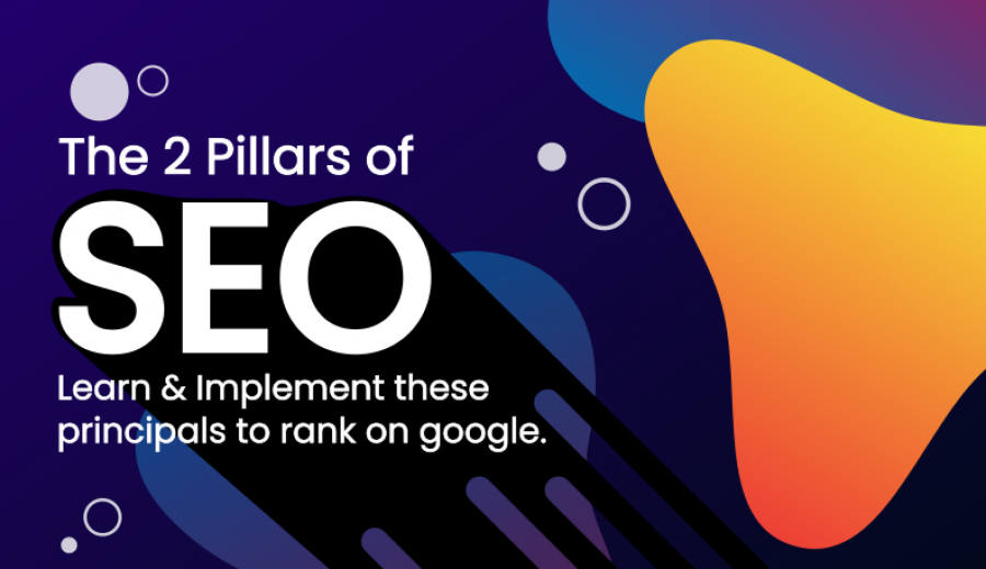 Two pillars of SEO - Featured Image Art - 702 Pros