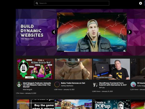 Vitmoto Homepage Design - Las Vegas web design agency 702 Pros