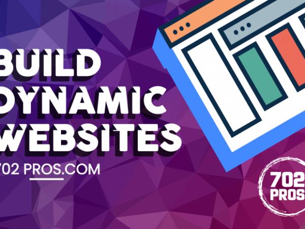 Las Vegas Web Design Deals on Dynamic Websites   WordPress web design