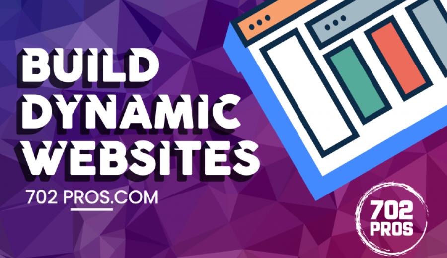 Las Vegas Web Design Deals on Dynamic Websites | WordPress web design
